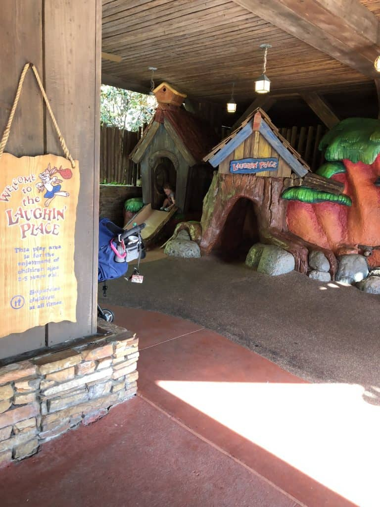 Play area in Adventureland in Magic Kingdom