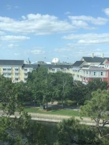 view from Walt Disney World Swan Resort-disney trip report