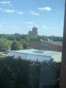 view from Walt Disney Word Swan Resort Epcot