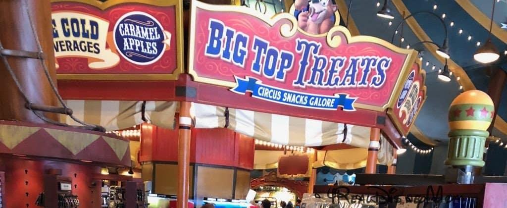 Disney Big Top Treats