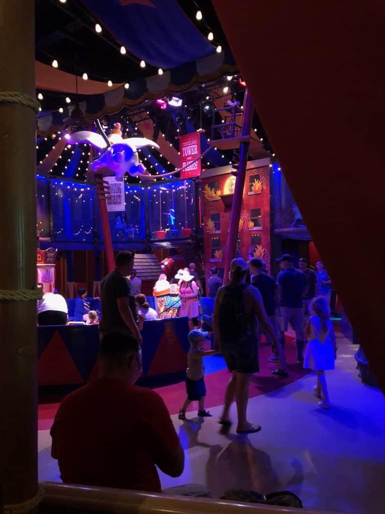Magic Kingdom Dumbo the Flying Elephant