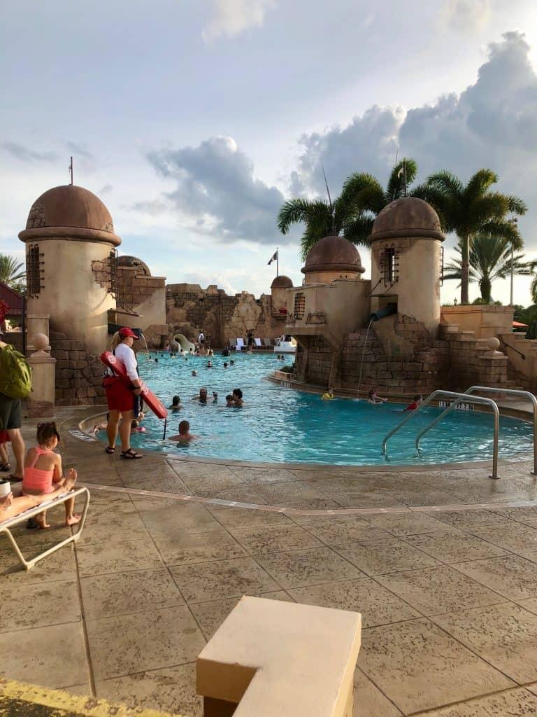 carribean beach disney pool