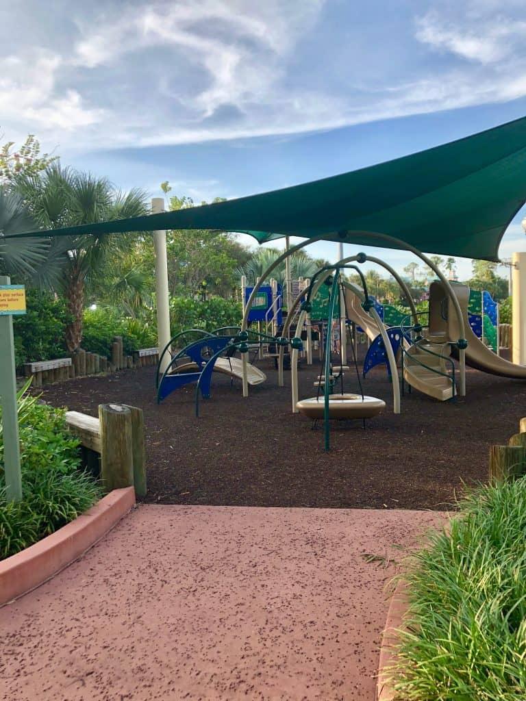 Caribbean Beach Resort playground