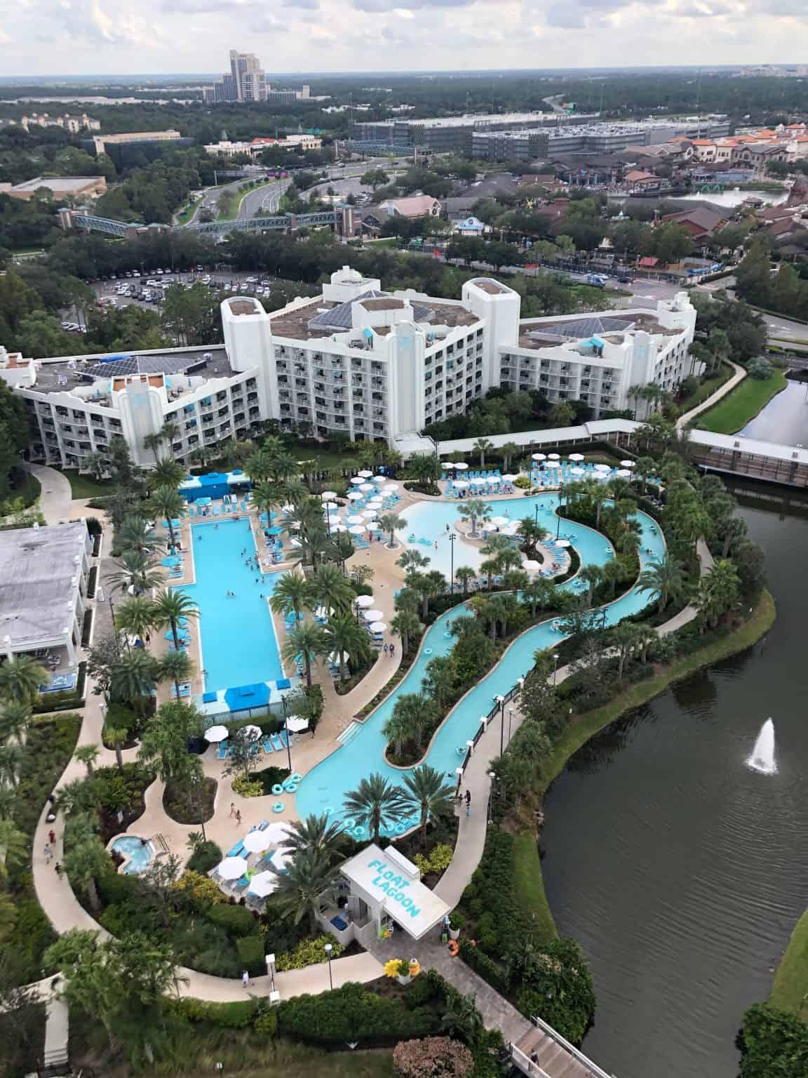 Hilton Orlando Buena Vista Palace Disney Springs room view