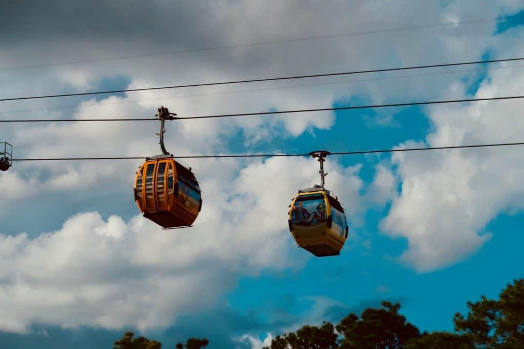 Disney World gondolas