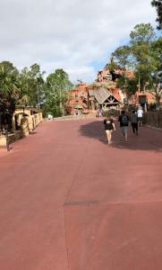Magic Kingdom walkway