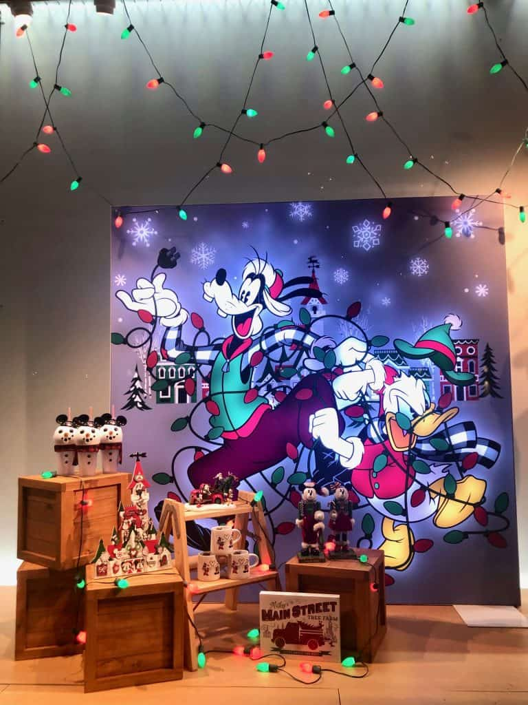 Disney Merchandise Window Display