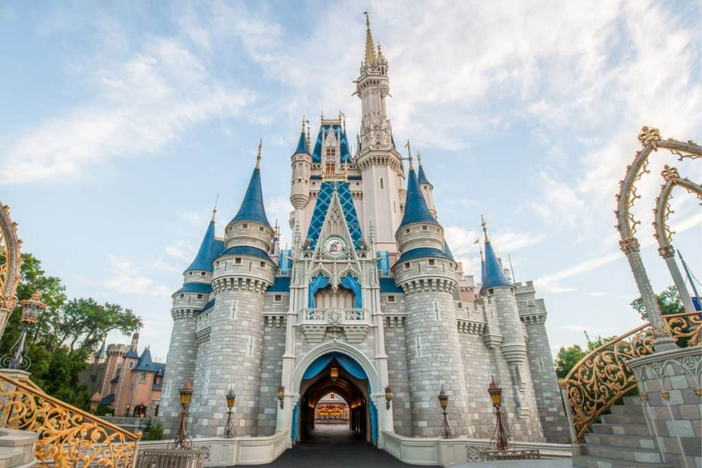 Cinderella Castle-Walt Disney World