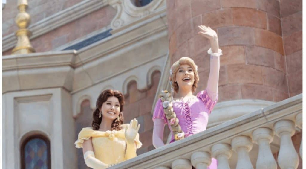 Disney Character Greeting