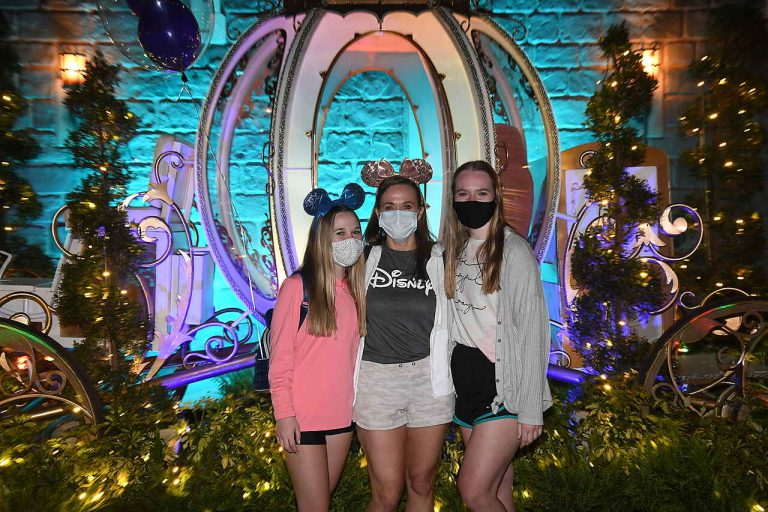 face coverings at Disney World